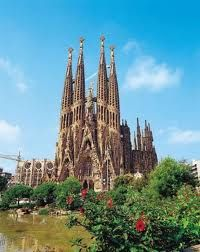 Barcelona, Spain. Sagrada Familia.