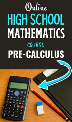 This course is designed to strengthen and extend the student's knowledge of algebraic and trigonometric concepts and to prepare the student for calculus. The content will include mathematical induction, symbolic logic, Boolean and matrix algebra, probability and statistics, elementary functions and limits. Calculators and computers will serve as instructional tools in concept development. School Routine For Teens, School Routines, School Hacks, Calculus, Algebra, Mathematical Induction, Online High School, High School Diploma, School Essentials