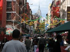 We happened upon the San Gennero Festival in Little Italy while we were there