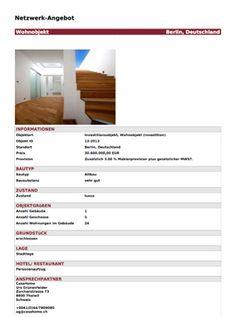 Wohnobjekt berlin investitionsobjekt zu verkaufen