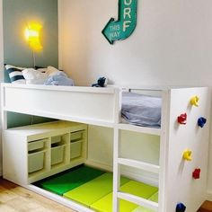 Good Cost-Free mommo design: UNDER THE KURA Ideas Inexpensive, toddler-friendly . - Good Cost-Free mommo design: UNDER THE KURA Ideas Inexpensive, toddler-friendly and surprisingly fu - Ikea Kids Bedroom, Boy Toddler Bedroom, Toddler Rooms, Girl Toddler, Girls Bedroom, Nursery Boy, Ikea Childrens Bedroom, Bedroom Furniture, Boy And Girl Shared Bedroom