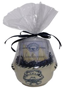 Blue Crab Bowl with Sandbaggers® Gift Set!  I love Blue Crab Bay Company!
