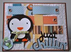 Create a Critter - Penguin Online Newsletter, Create A Critter, First Day Of School, Scrapbooks, Card Making, Weaving, Cricut, Challenges, My Love