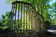 """Las Pozas, Xilitla, Mexico via Wikipedia, image by russavia - Las Pozas (""""the Pools"""") is a sculpture garden built by Edward James more than 2,000 feet (610 m) above sea level, in a tropical rain forest in the mountains of Mexico. It includes more than 80 acres (320,000 m2) of natural waterfalls and pools interlaced with towering Surrealist sculptures in concrete."""