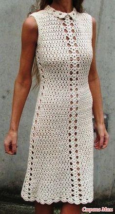 . Женственное платье. (Схема)