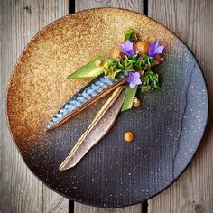 Can you guess which kind of fish this is? Dish by @kamil_cichy The correct answer is Mackerel Thank you all for your answers