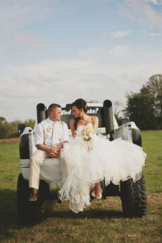 I love this! Must be a chevy duramax though! Love country couple wedding boots redneck
