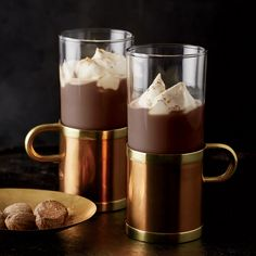 Huber's Iced Spanish Coffee ~ This warming coffee cocktail is spiked with Kahlua and rum.