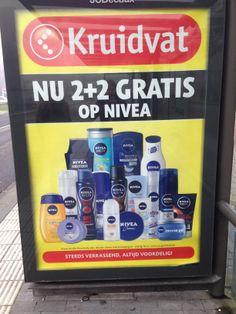 Sterk, het is duidelijk dat het om Kruidvat gaat en welke aanbieding.