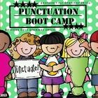 Punctuation Boot Camp will get your kids out of their seat and exercising their grammar skills!