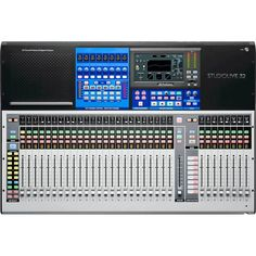 Looking for extra savings on the Presonus StudioLive 32 Series III Digital Mixer? We have Restock models in stock to help you get the gear you want at the lowest price! Multitrack Recording, Recording Studio Design, Channel, Xmax, Audio, Bluetooth Remote, Mixers, Computer, Sd Card