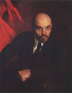 A. Mikhailovski V.I. Lenin
