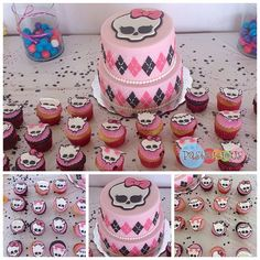 #pastelicious #fondantcake #cupcakes