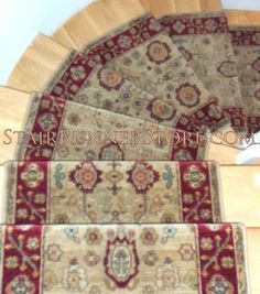 Charmant Curved Staircase Stair Runner Installation Karastan Stair Runner  Installation. This Product Is From Karastanu0027s Antique