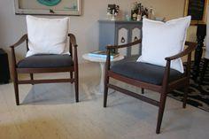 mint love social club: mid century chair makeover