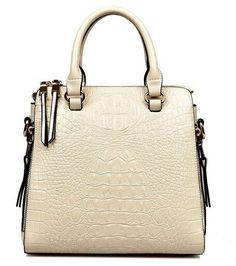 QIAOBAO 2017 new leather handbag crocodile pattern leather bag luxury handbags diagonal portable shoulder bag
