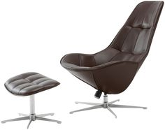 Boston chair with swivel and tilt function