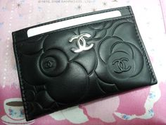 Chanel Business Card Case....might need to replace my Coach card holder soon...