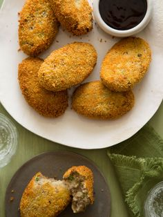 Korokke (Japanese Meat and Potato Croquettes) made in partnership with @potatogoodness the perfect recipe for game day! #ad #beholdpotatoes
