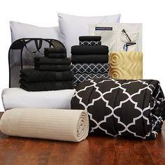 Comfort Pak - Twin XL Bedding and Bath Set | Virginia Tech Dorm Bedding and Bath | OCM.com