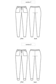 Seamwork magazine Moji trouser