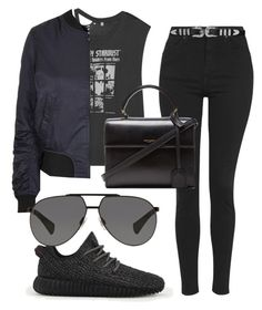 """""""."""" by fleetwood ❤ liked on Polyvore featuring R13, Topshop, adidas, Dolce&Gabbana, Yves Saint Laurent, women's clothing, women, female, woman and misses"""