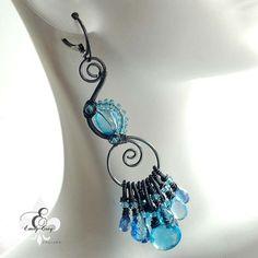Earrings by Emily Gray