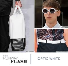 Trend spring / summer 2014 - White accessories