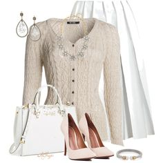 """""""Classy in Neutrals"""" by kginger on Polyvore"""