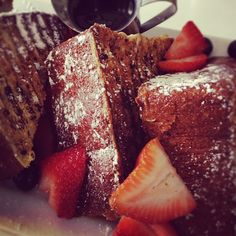 brioche french toast at Lockwood Table Cafe