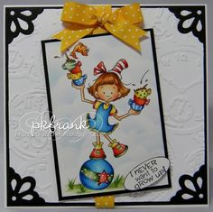 Well, we are in to our first FULL week of the new year. It still seems funny typing that. Cute Cards, Easy Cards, Digi Stamps, Creative Cards, Cheryl, Handmade Christmas, Diy Crafts, Card Crafts, Keep It Cleaner