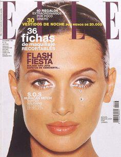 Elle Spain December 1998 - Nieves Alvarez