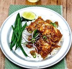 I'm'a' make me some of this fish curry. Then I'm'a' eat it!