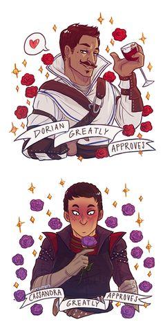 Dorian and Cassandra greatly approve!