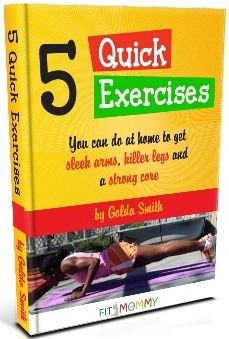 Quick Home Workouts for Busy Mommas...and Papas too!