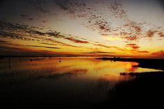 A Beautiful Steinhatchee Sunset, on the Steinhatchee River, Deadman Bay, Steinhatchee Florida