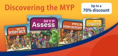 Discovering the MYP web banner for the IB store - done with the International Baccalaureate