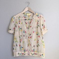 Anthropologie shirt Gorgeous Pins & Needles brand top from Anthropologie. Excellent condition.      RefH1303 Pins & Needles Tops Blouses