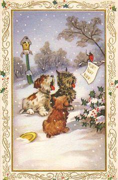 Interior: Картинки для декупажа. Christmas. Часть 5
