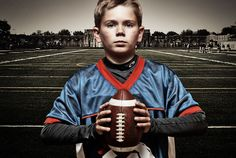 Hmmmm how could I make this happen?... http://ericwashburn.com/kids-football-portraits