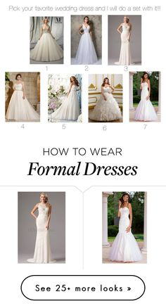 """""""Pick your favorite dress!!"""" by monicam-9 on Polyvore featuring Nina Canacci and Sean Collection"""