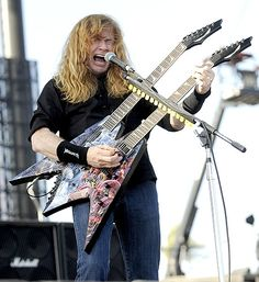 Dave Mustaine. Happy to say I've met him too!!!!