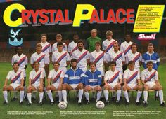 Crystal Palace Football Club, 1986