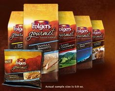 Free Folgers Gourmet Selections Vanilla Biscotti-Flavored Coffee Sample