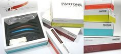 Pantone eyewear packaging... A girl can always use a little 'color' in her life!