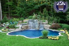 award winning pools designs | 2008 Award Winning Swimming Pool & Landscaping Project Photos