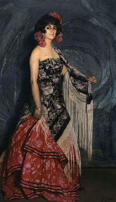 Bailarina, 1912, Ignacio Zuloaga y Zabaleta