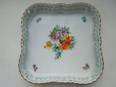 Herend Gallery Tray 7' Reticulated Openwork 24 by Passion4Europe