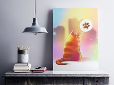 Cat on LSD by Petr Stefek