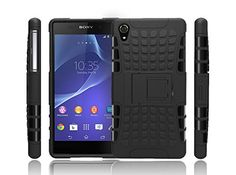 brilliant easyDigital® - Black Sony Xperia Z3 Heavy Duty Strong Hard Protective Case Cover Dual Layer Protection Hybrid Case Cover with Built In Stand for Sony Xperia Z3 Screen Protector (Black) (THIS CASE ONLY FIT WITH XPERIA Z3 PHONE,NOT COMPATIBLE WITH OTHER XPERIA Z3 COMPACT MODEL) Check more at…